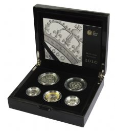 2010 Siver Proof Piedfort Collection
